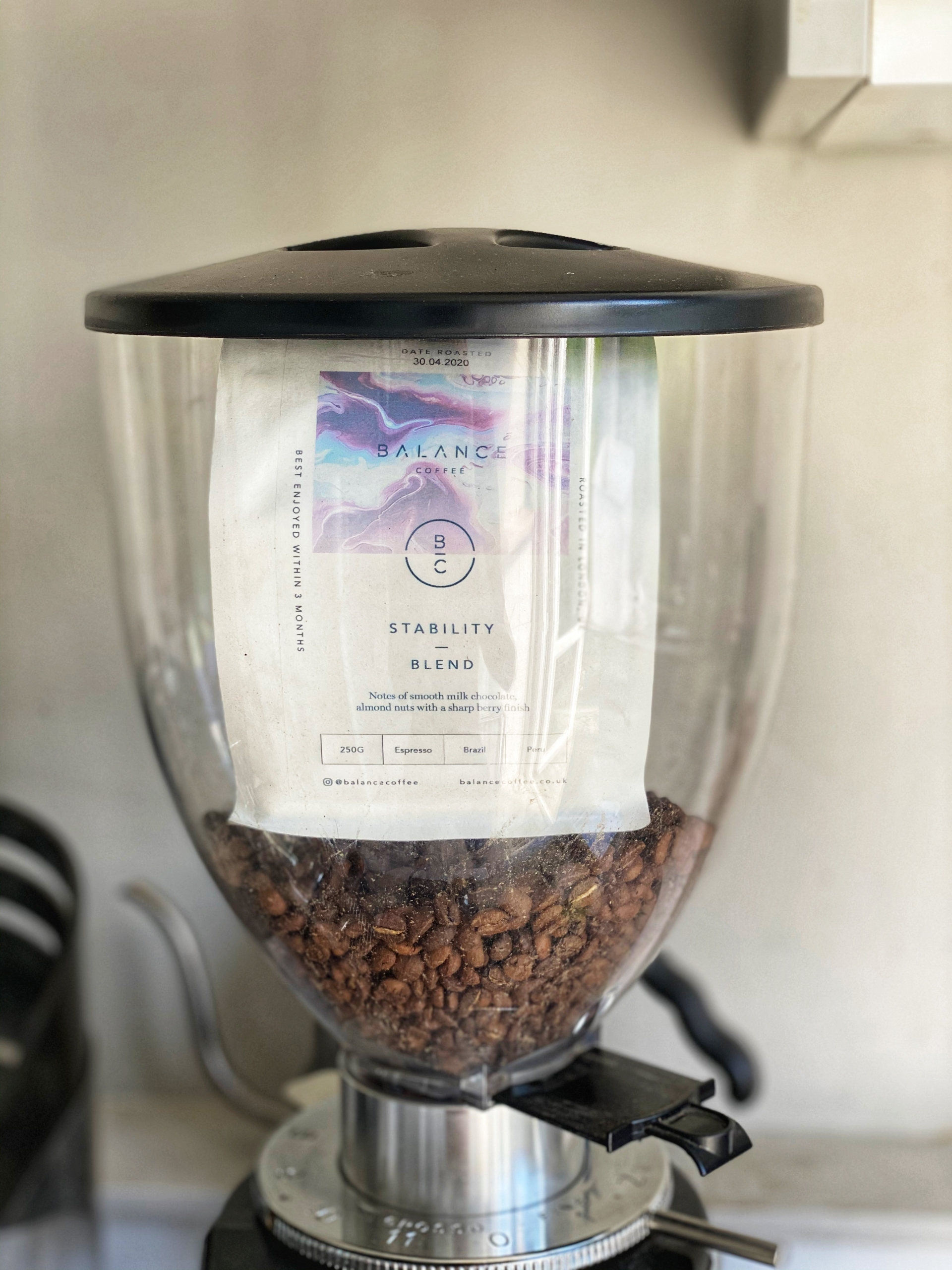 Our Stability blend - coffee equipment