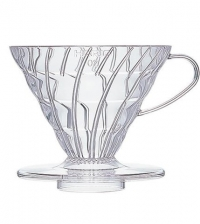 Hario V60 Pourover Dripper Clear