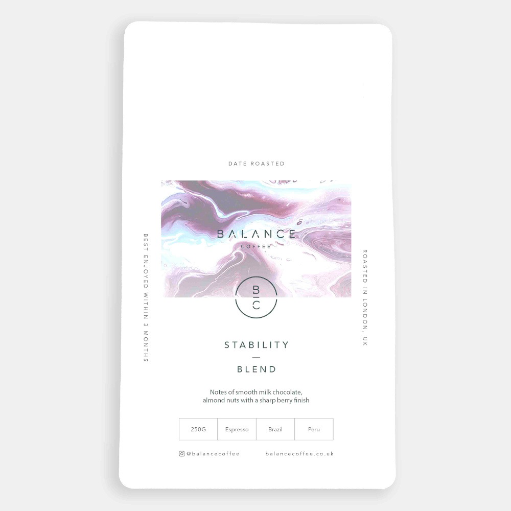 Speciality Coffee Beans - Stability Blend