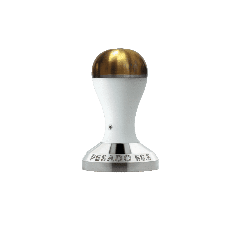Pesado White Gold Coffee Tamper