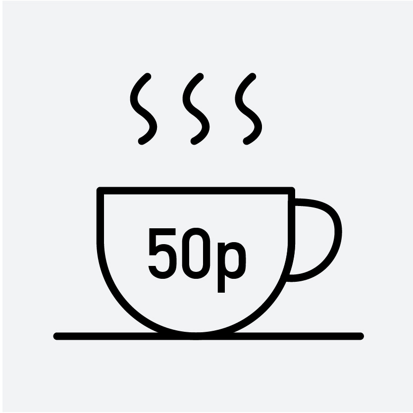 buy speciality coffee 50p