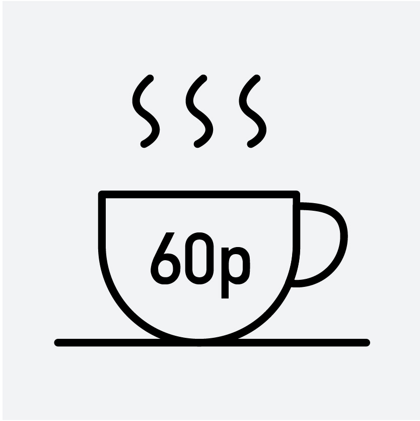 buy speciality coffee 60p