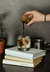 Jazzing up our Thai iced coffee is super easy!
