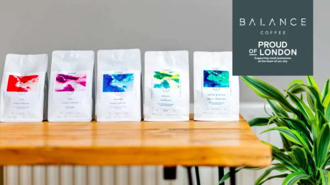 Balance Coffee is part of Proud of London